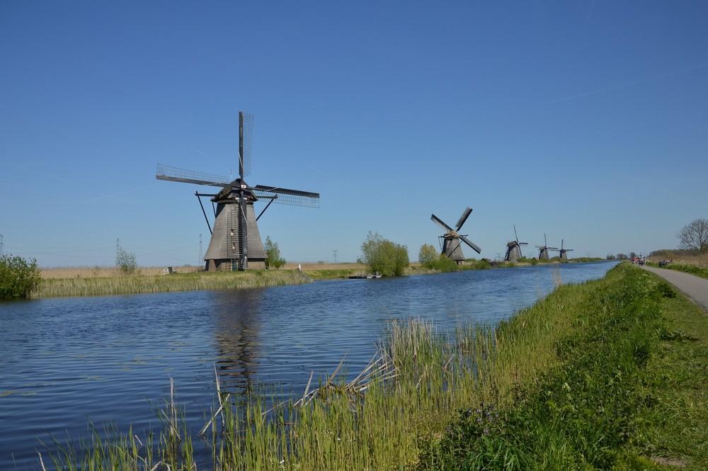 Moulins de Kinderdijk - Pays-Bas