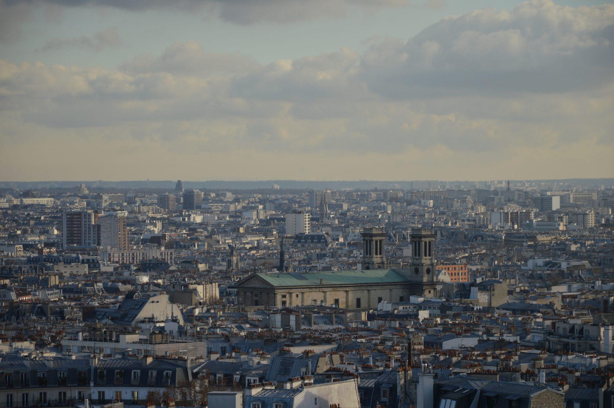Vue de la Butte Montmartre - Sacré Coeur - Paris - Voyage ici et ailleurs