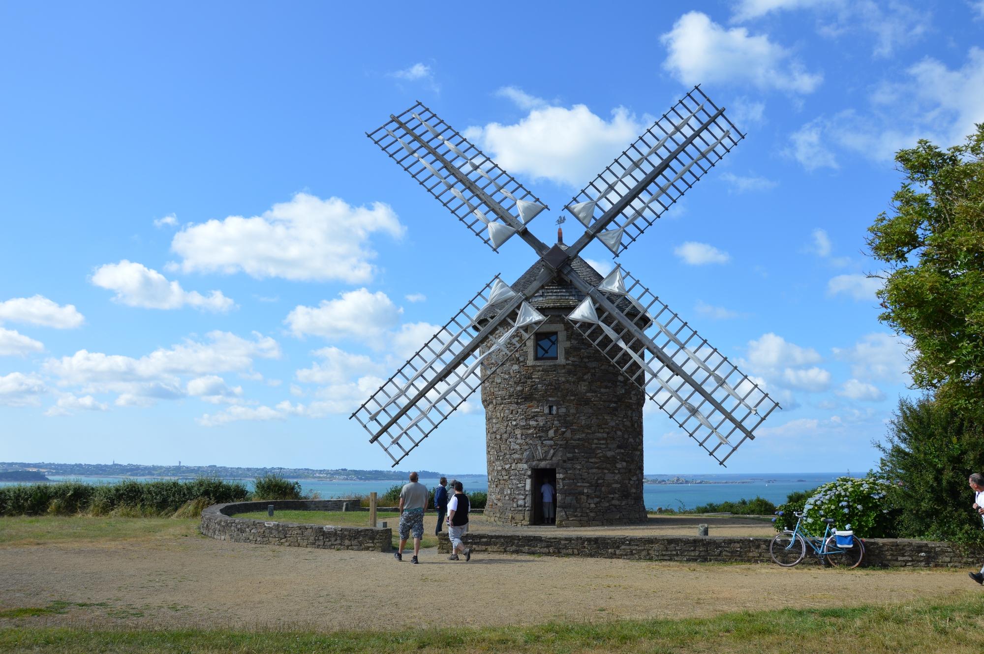 Moulin à vent de Craca – Bretagne