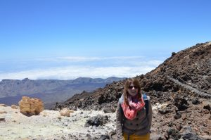 En haut du Teide à Tenerife !