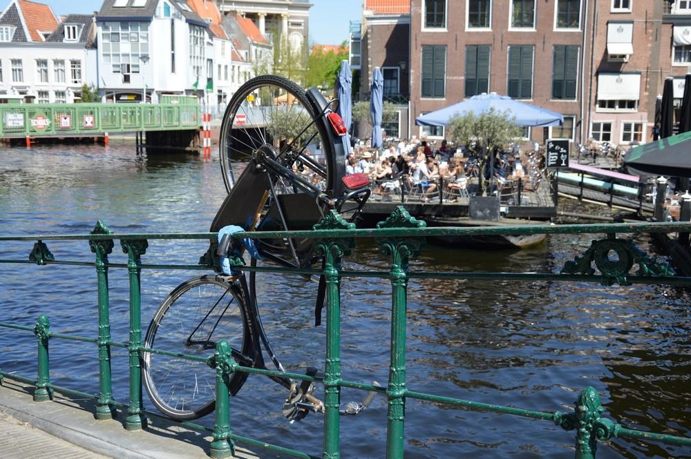 Vélo à Leiden