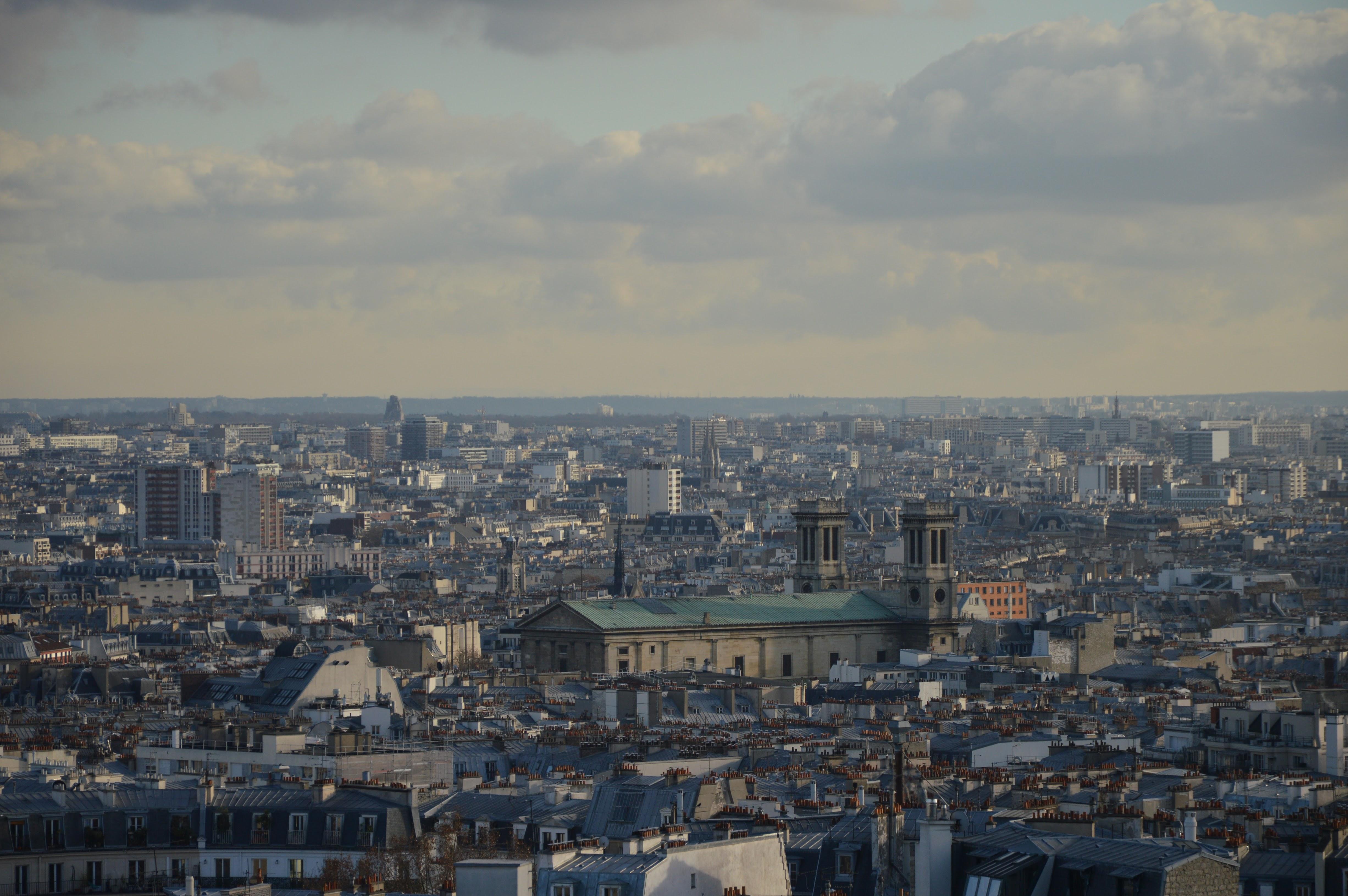Vue de la Butte Montmartre – Sacré Coeur – Paris – Voyage ici et ailleurs