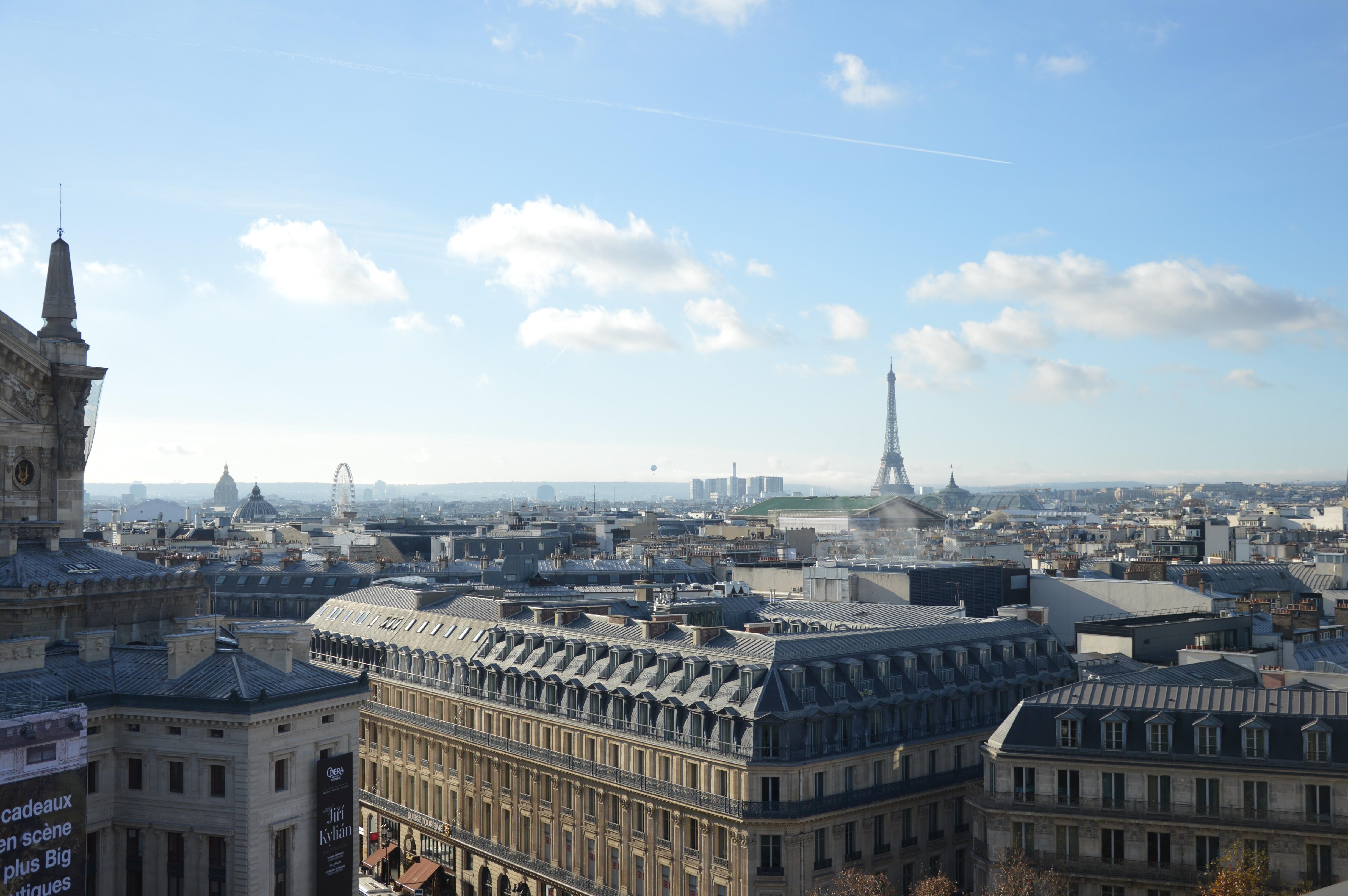 Paris vu d'en haut: profitez de quelques vues exceptionnelles lors de votre city trip