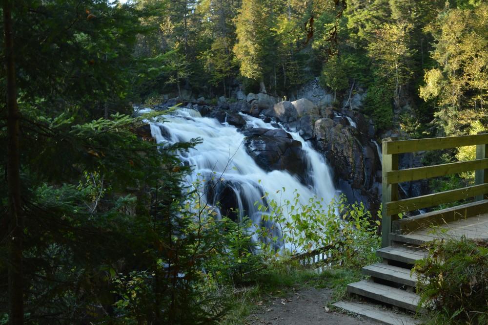 parc mont tremblant randonnée chute du diable