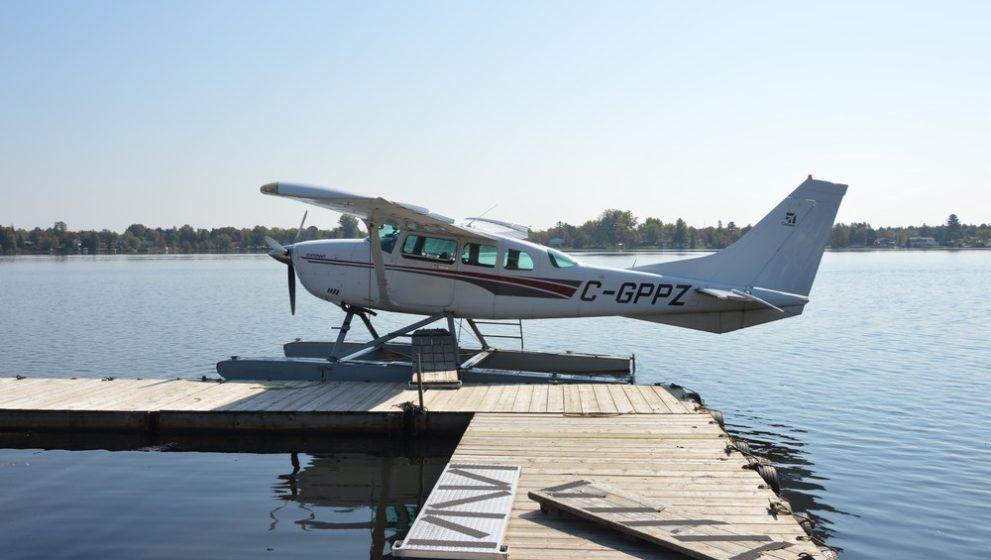 Vol en hydravion au départ du Lac-à-la-Tortue