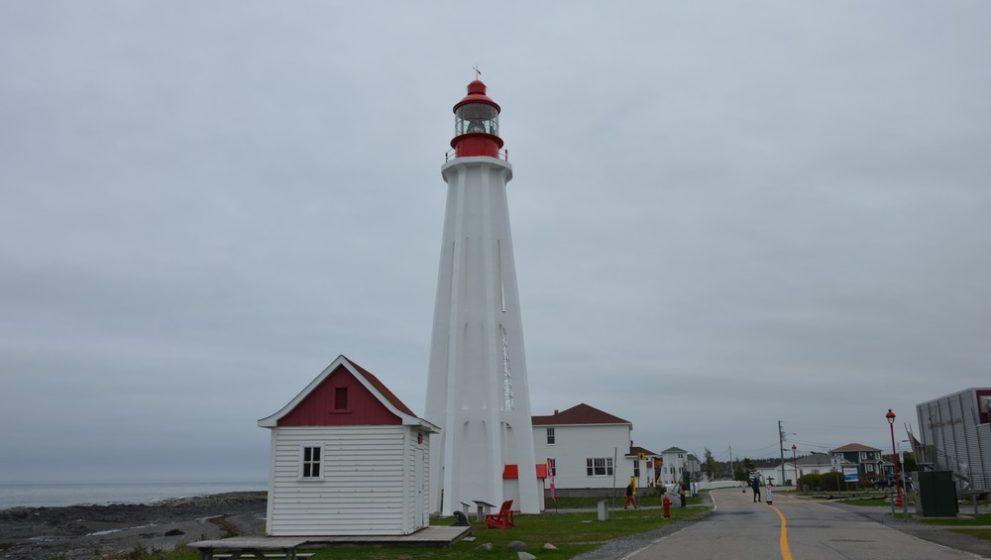 Visite du phare de la Pointe-au-Père